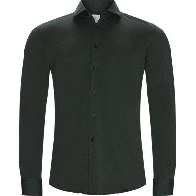 Classic Cotton Shirt Slim fit   Classic Cotton Shirt   Grøn