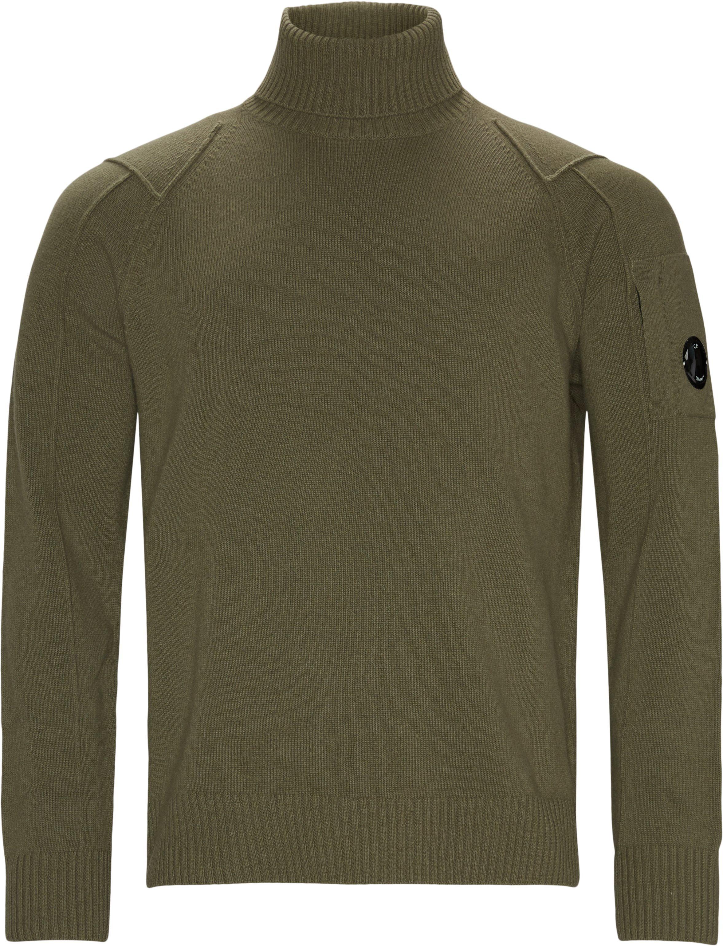 Rollneck Knit - Strik - Regular fit - Army