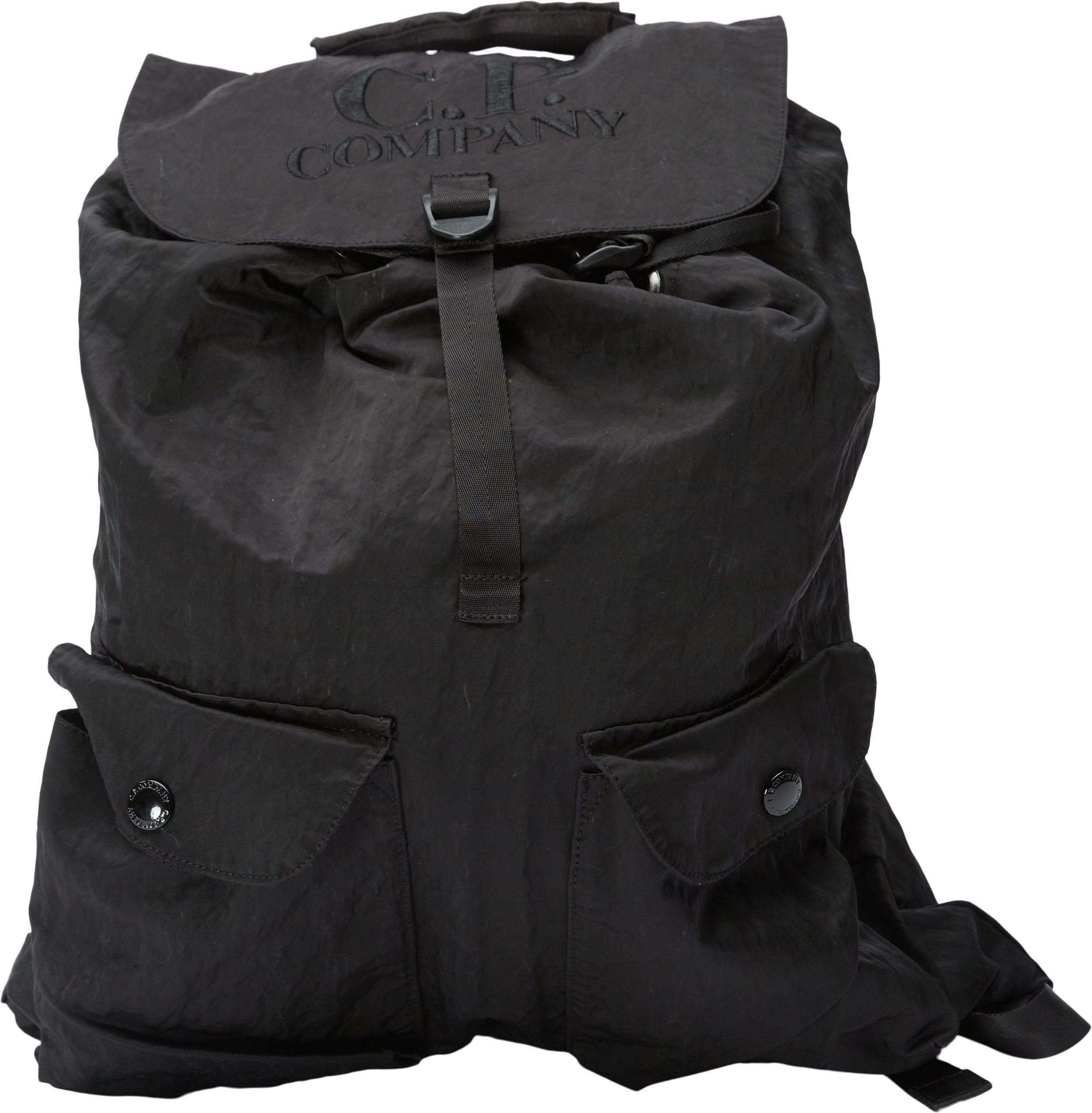 Nylon Bag - Tasker - Sort