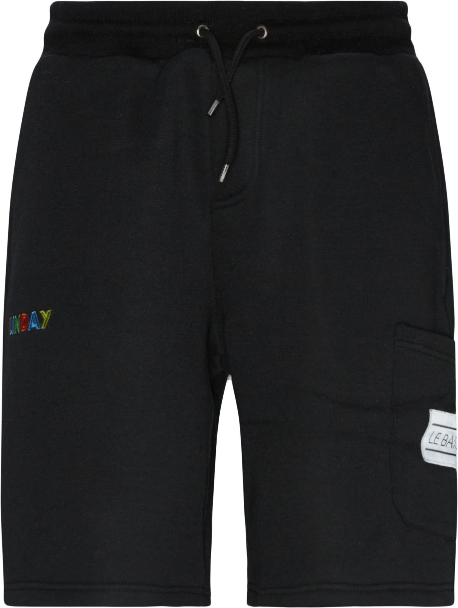 Shorts - Regular fit - Svart