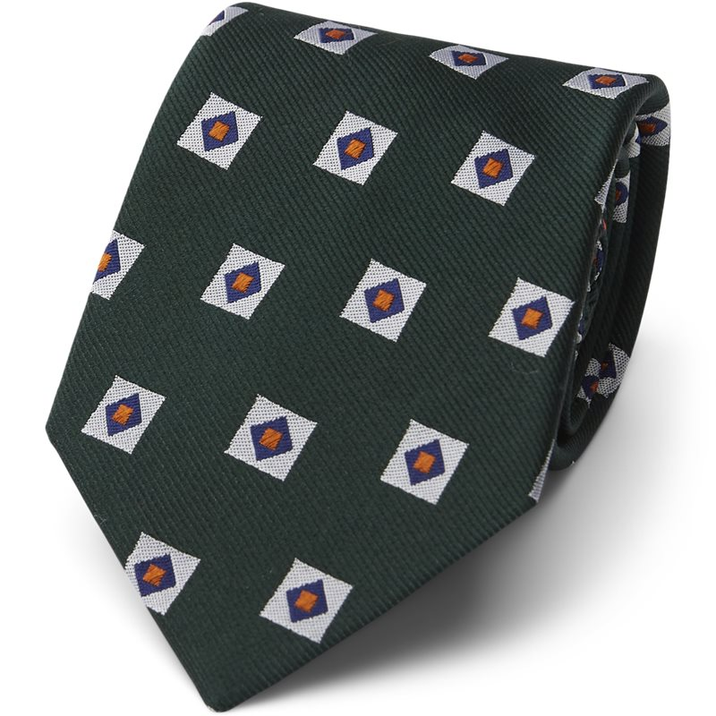 An Ivy - GREEN TRIPLE SQUARE Slips