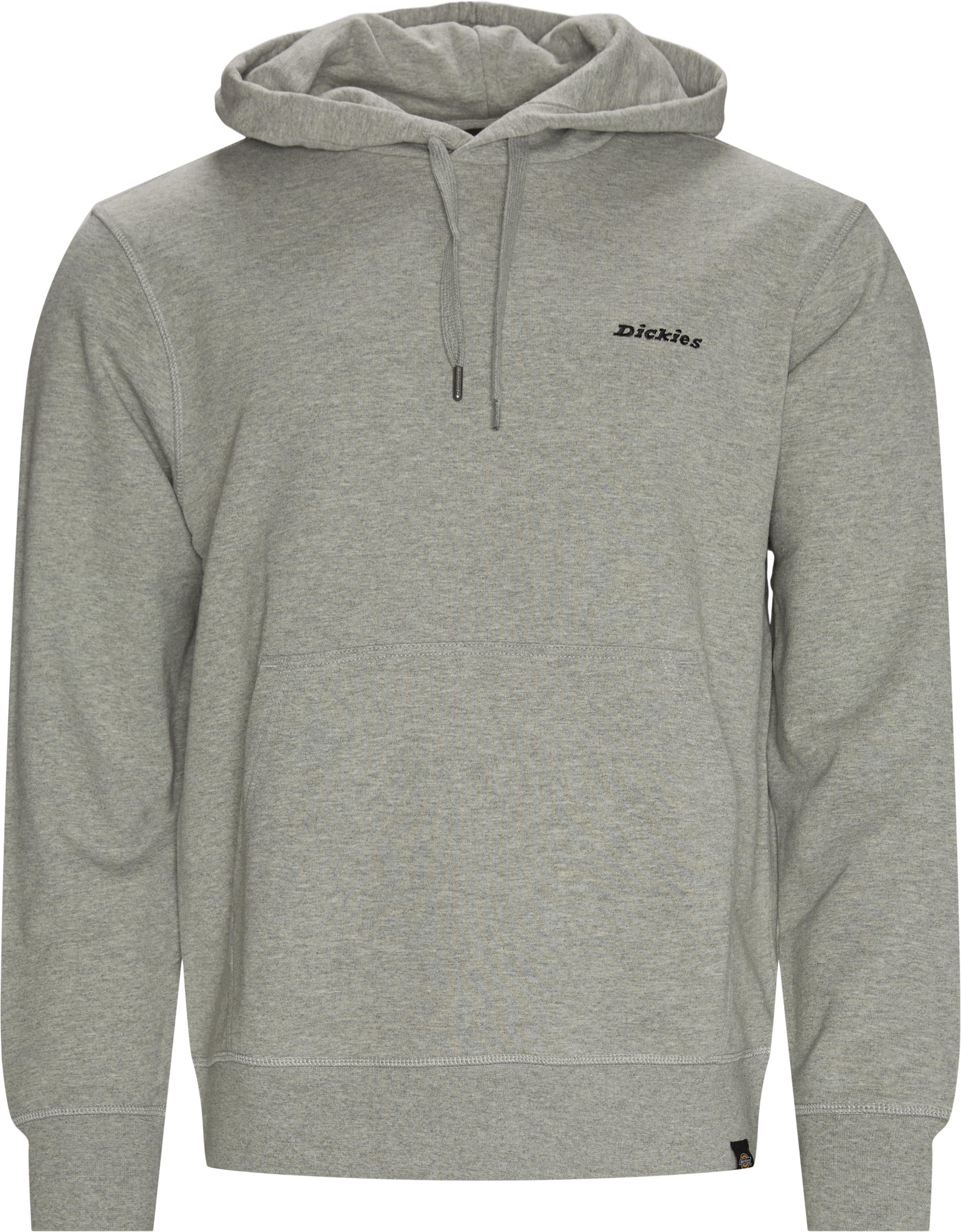Loretto Hood Sweatshirt - Sweatshirts - Regular fit - Grå