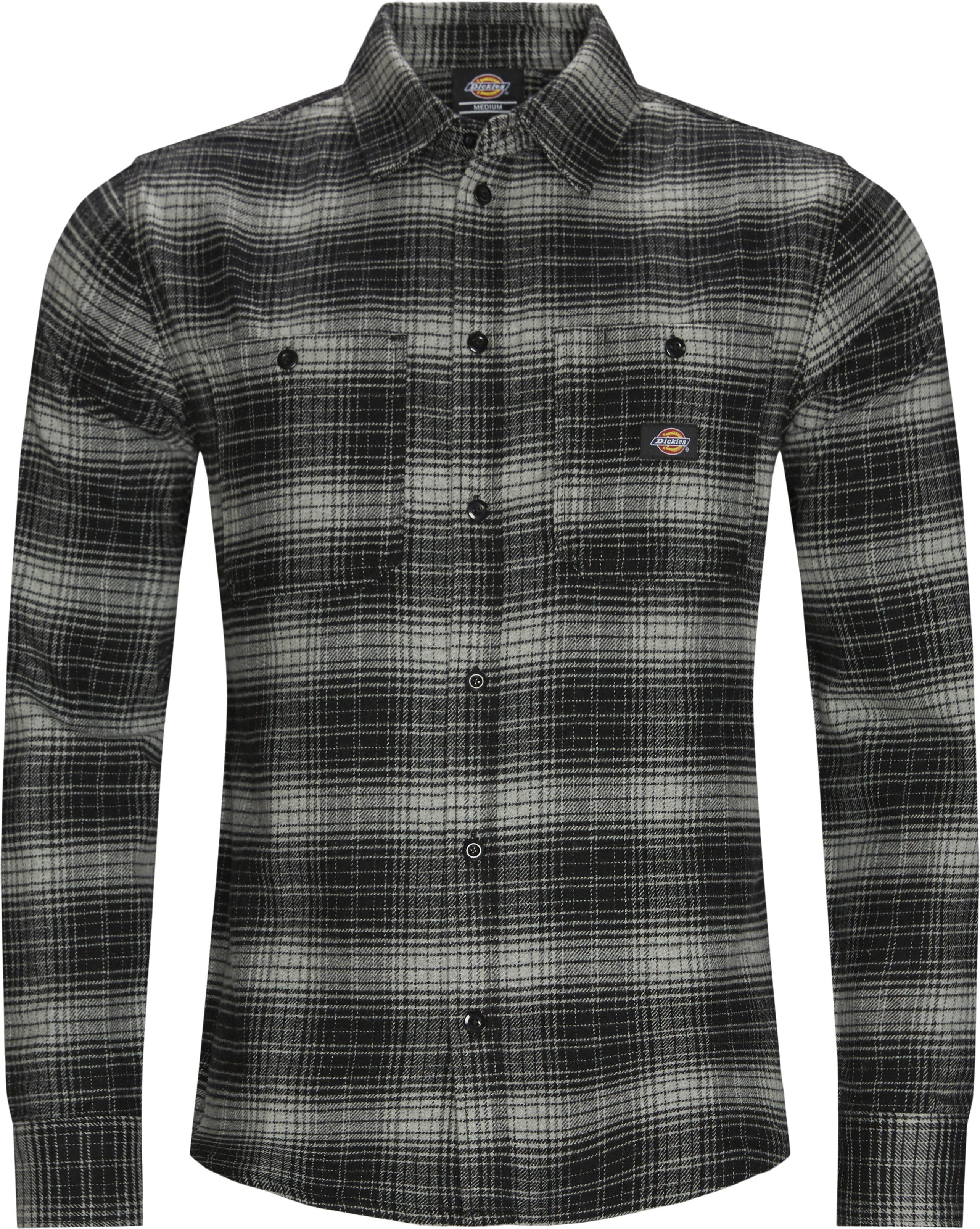 Evansville Skjorte - Skjortor - Regular fit - Grå