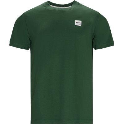 Regular fit | T-shirts | Grön