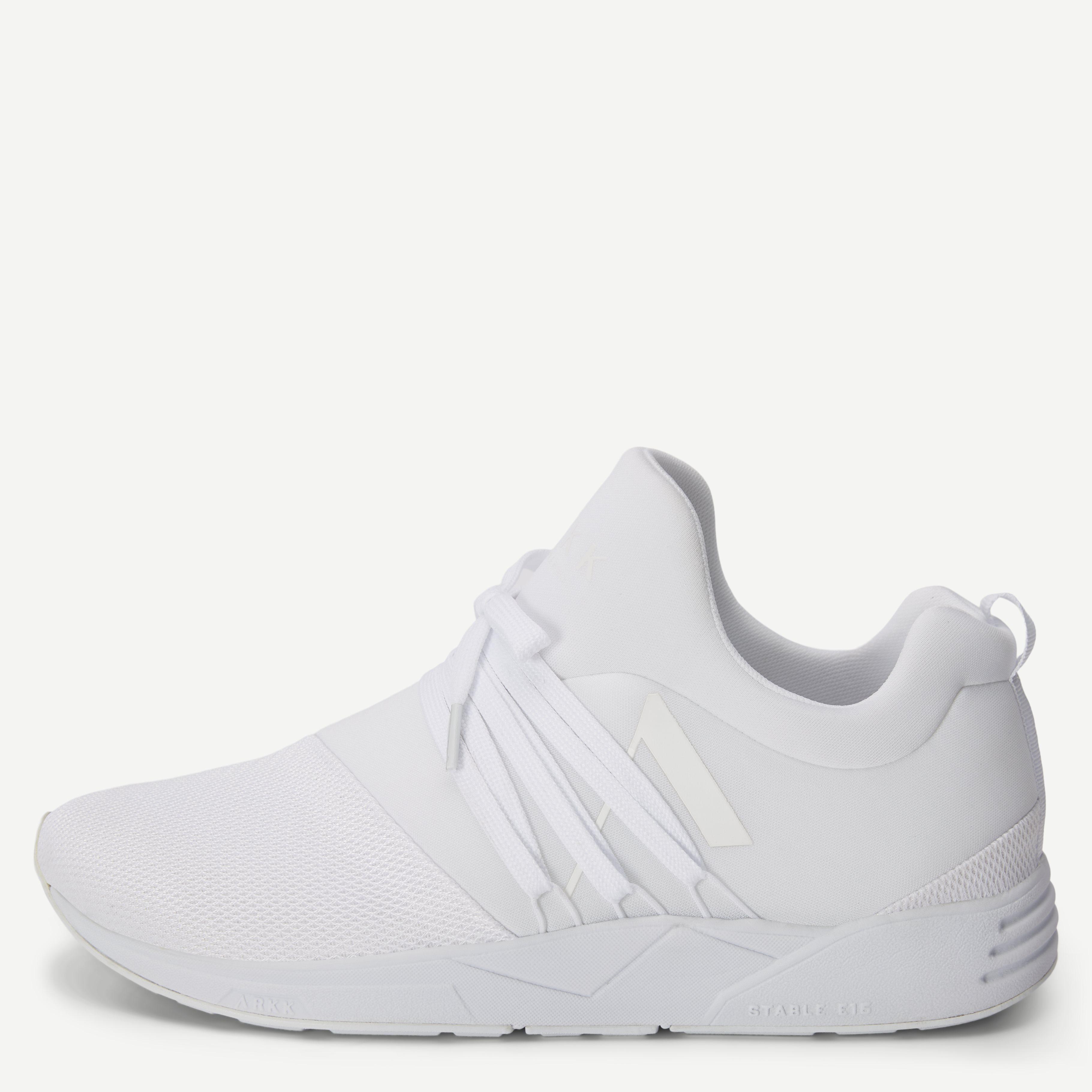 Raven Mesh Sneakers - Sko - Hvid