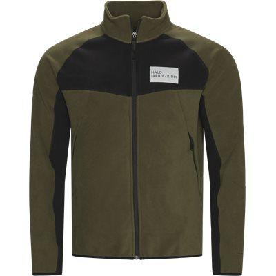 Zip Fleece  Regular fit   Zip Fleece    Army