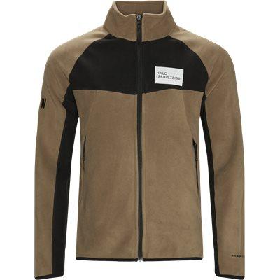 Zip Fleece  Regular fit | Zip Fleece  | Brun