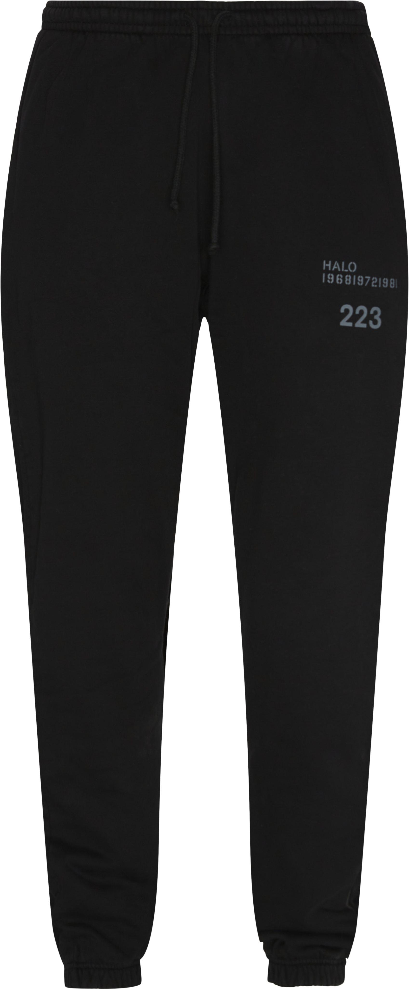 Cotton Sweatpant - Byxor - Regular fit - Svart