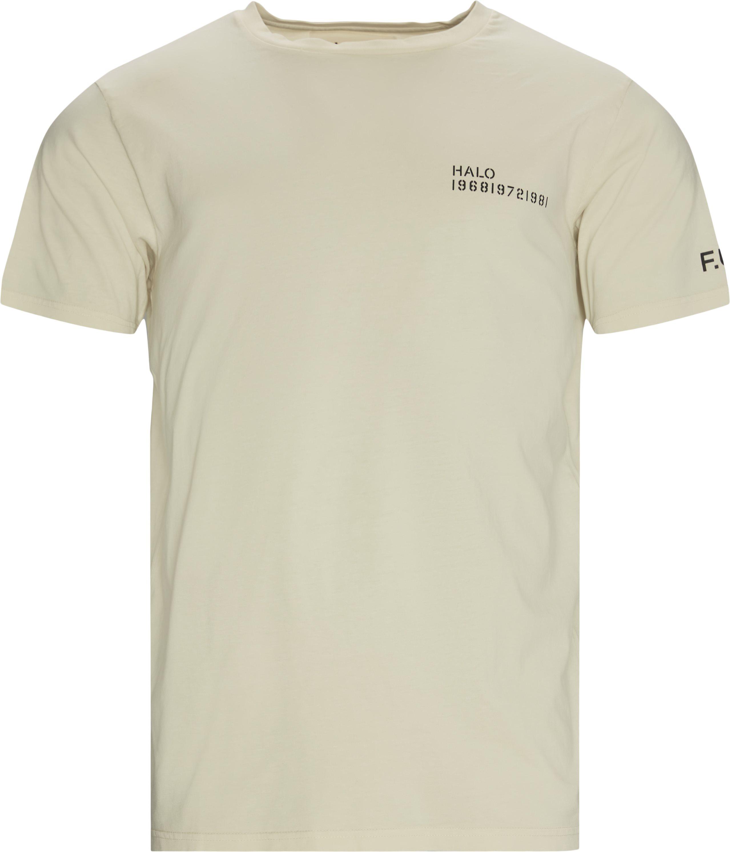 Cotton Tee  - T-shirts - Regular fit - Sand