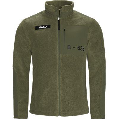 Fleece Jacket Regular fit | Fleece Jacket | Army