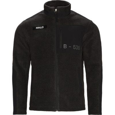 Fleece Jacket Regular fit | Fleece Jacket | Sort