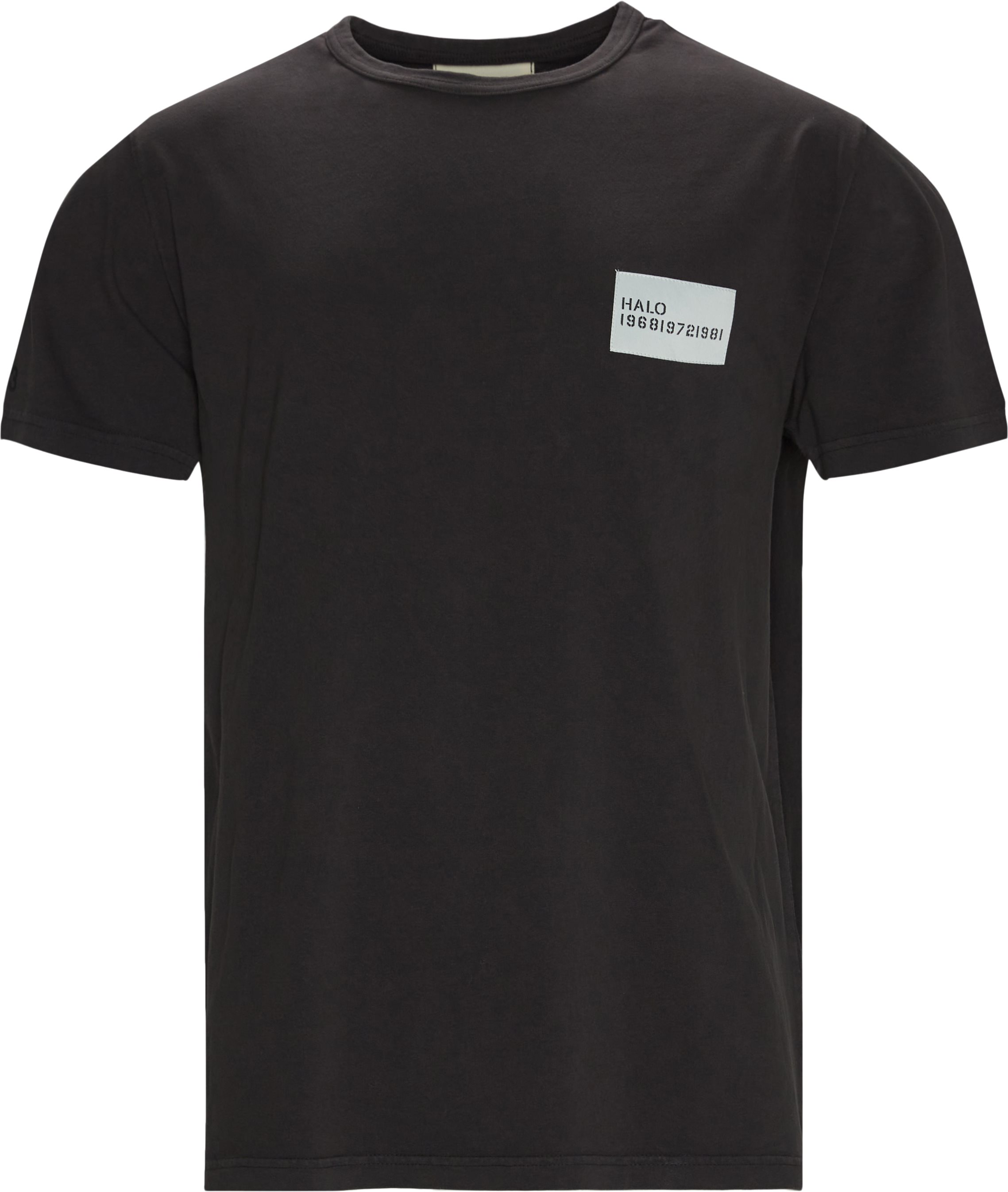 Heavy Cotton Tee - T-shirts - Regular fit - Svart
