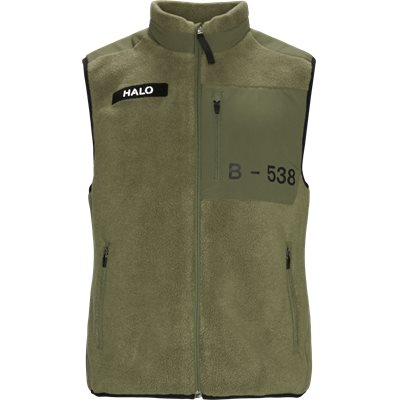Halo Fleece Vest Regular fit | Halo Fleece Vest | Army