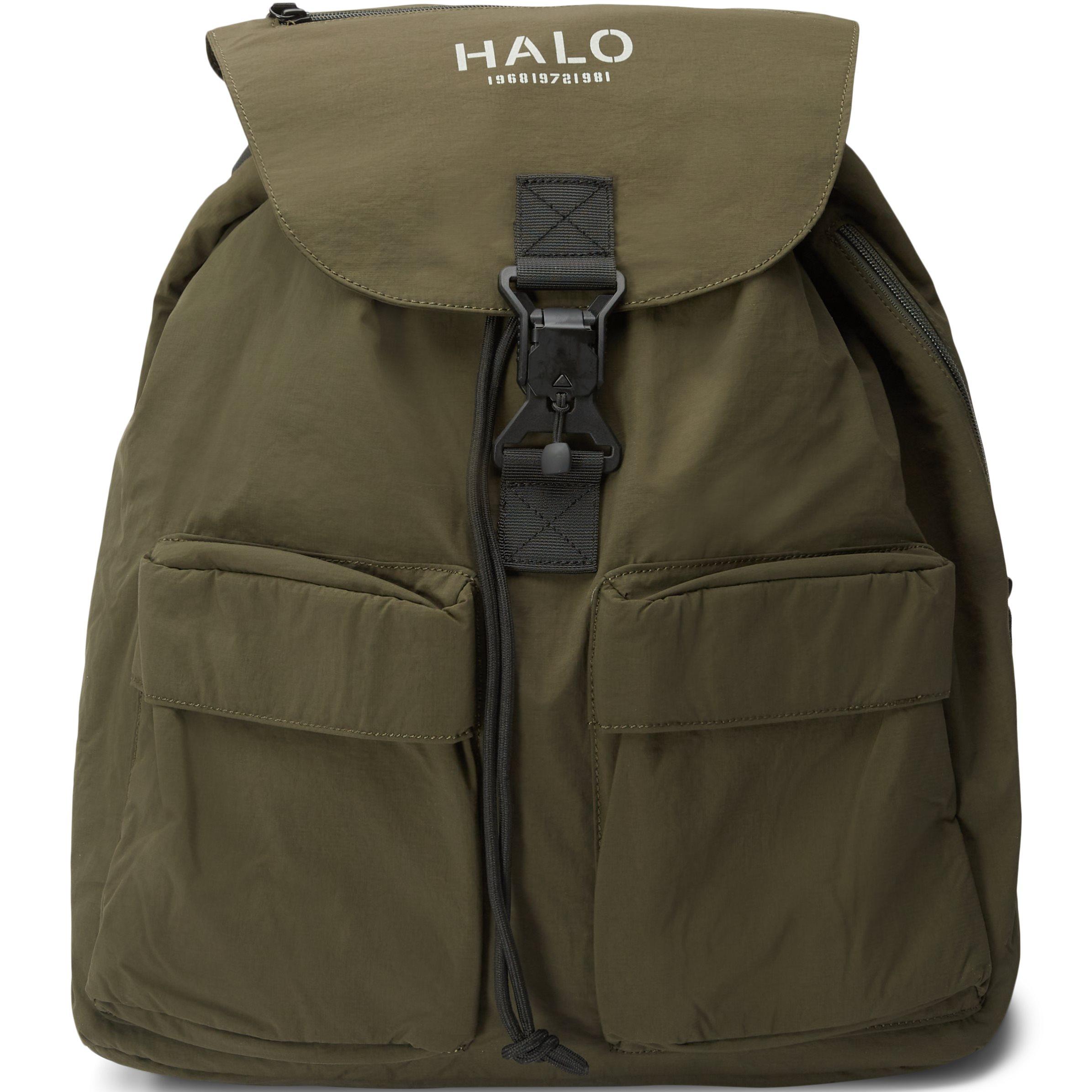 Nylon Backpack - Väskor - Grön