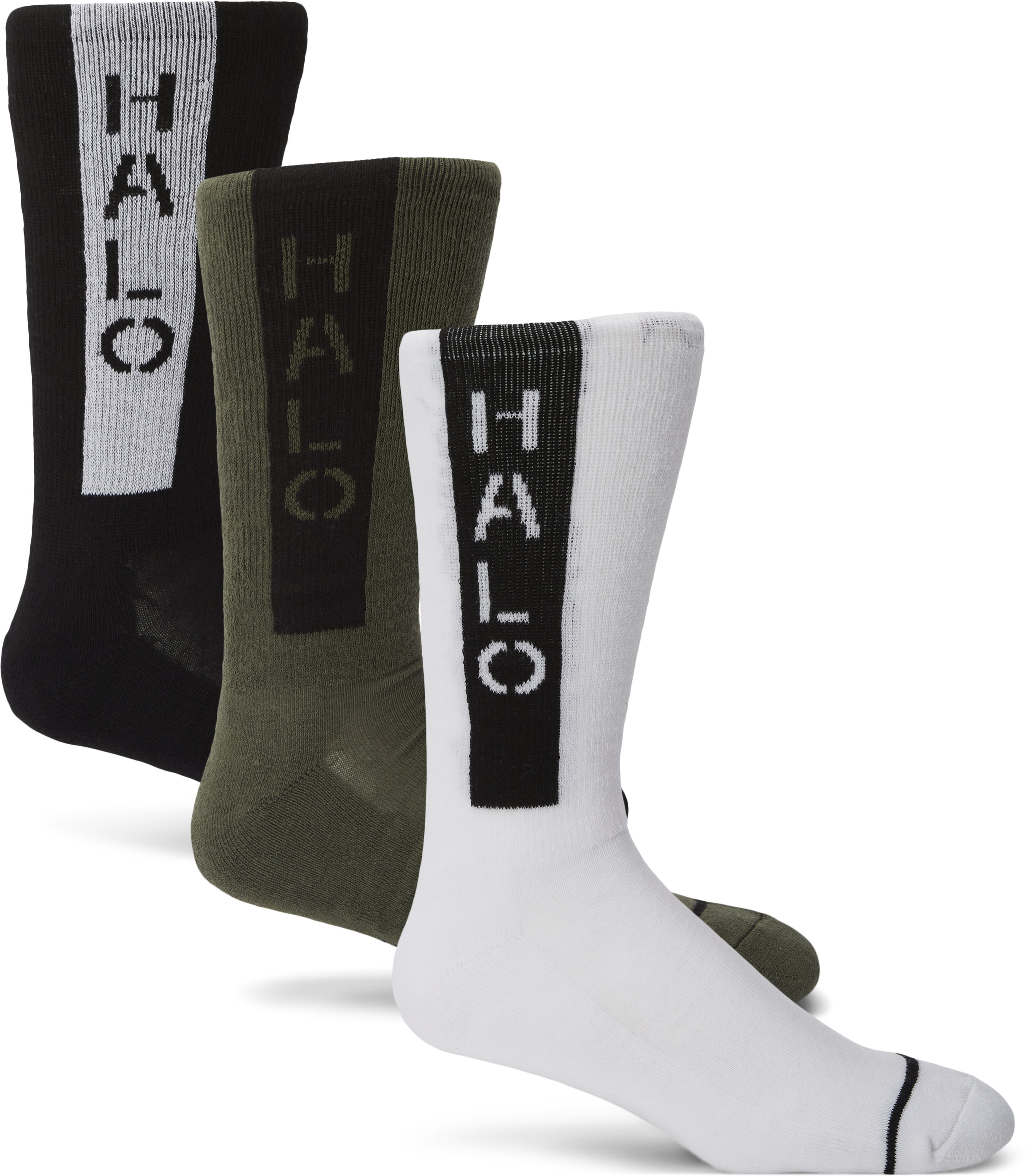 Logo Socks 3-pack - Socks - Regular fit - Multi