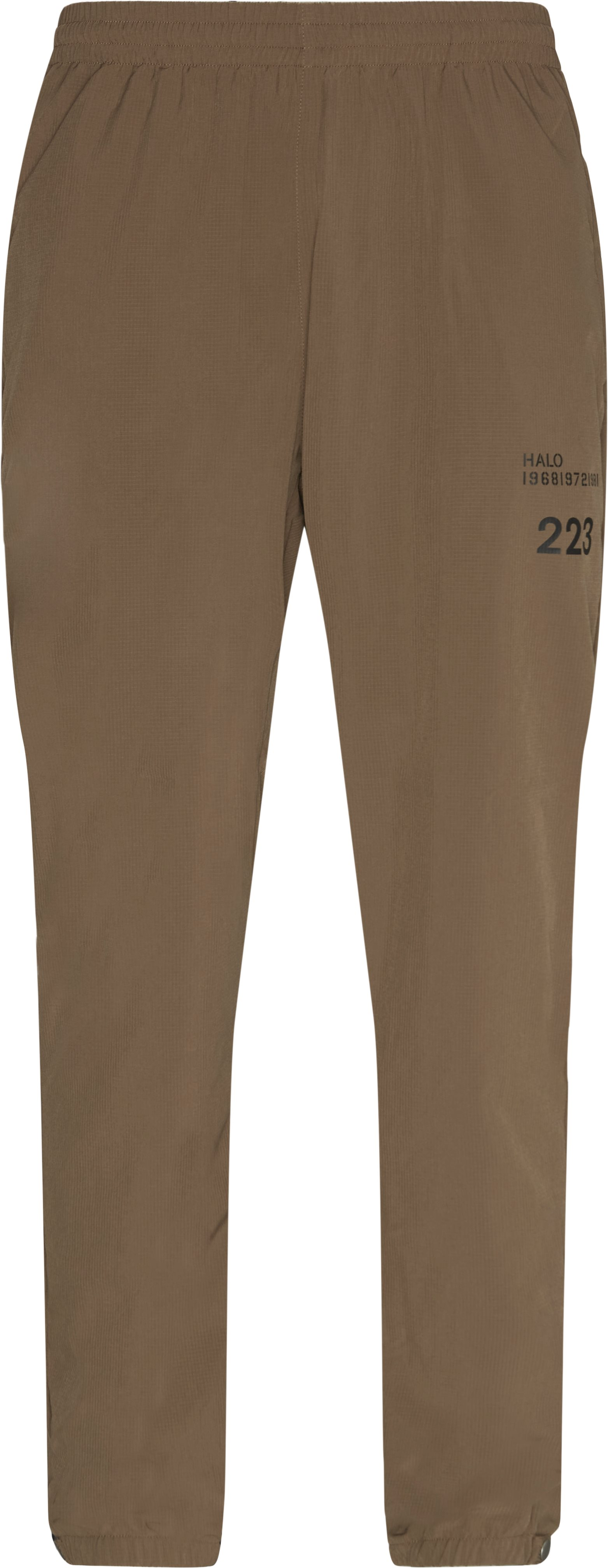 Tech Pant - Trousers - Regular fit - Sand