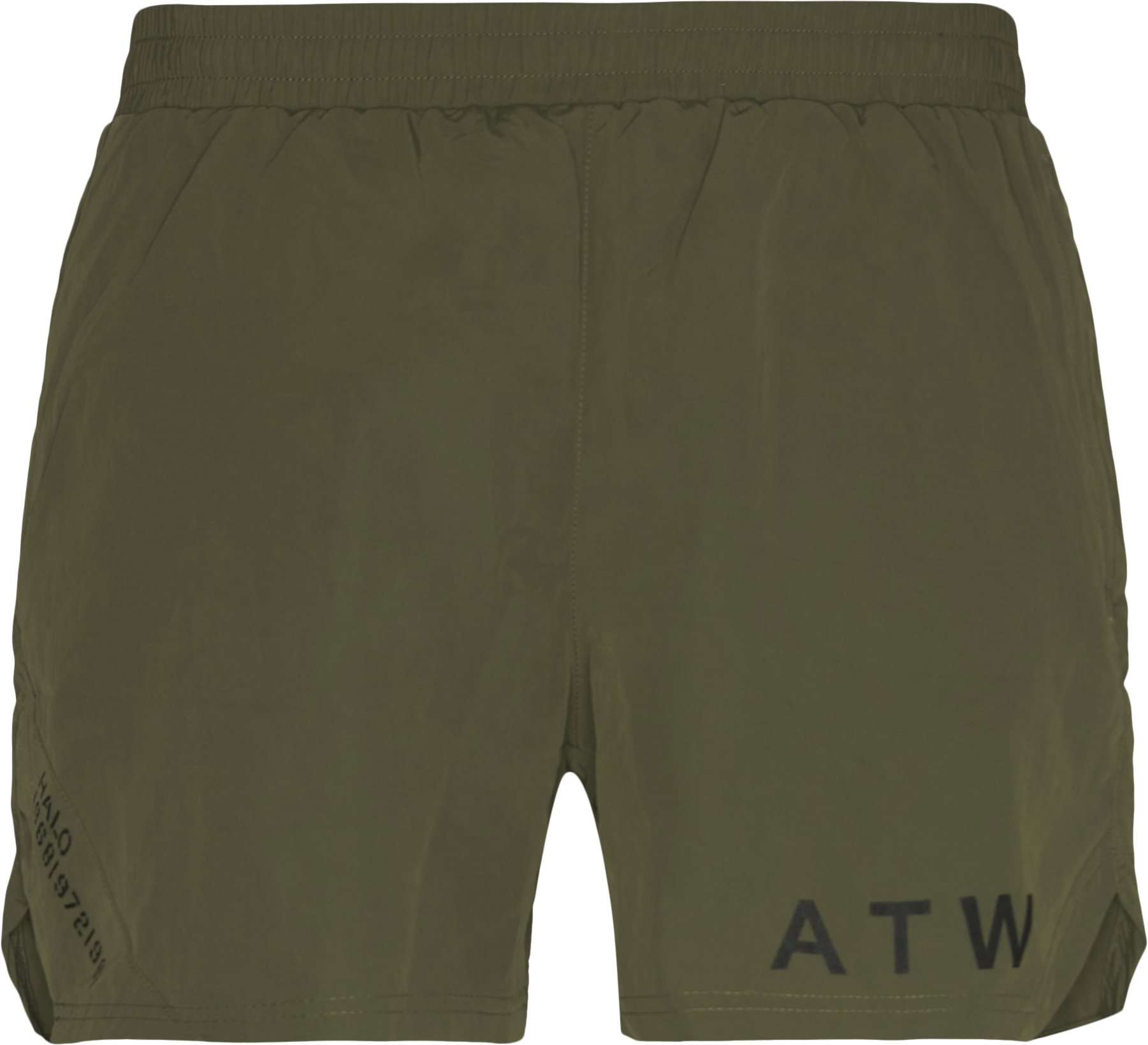 Atw Shorts - Shorts - Straight fit - Army