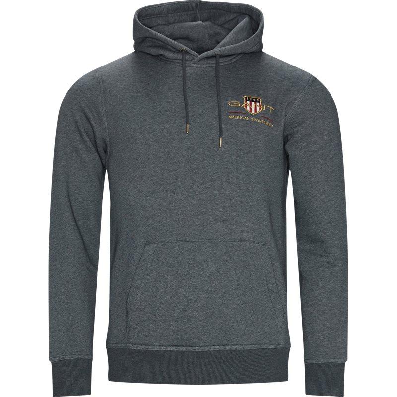 Køb Gant – Shield Hooded Sweatshirt