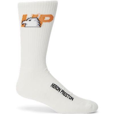 Logo Sock Logo Sock   Hvid