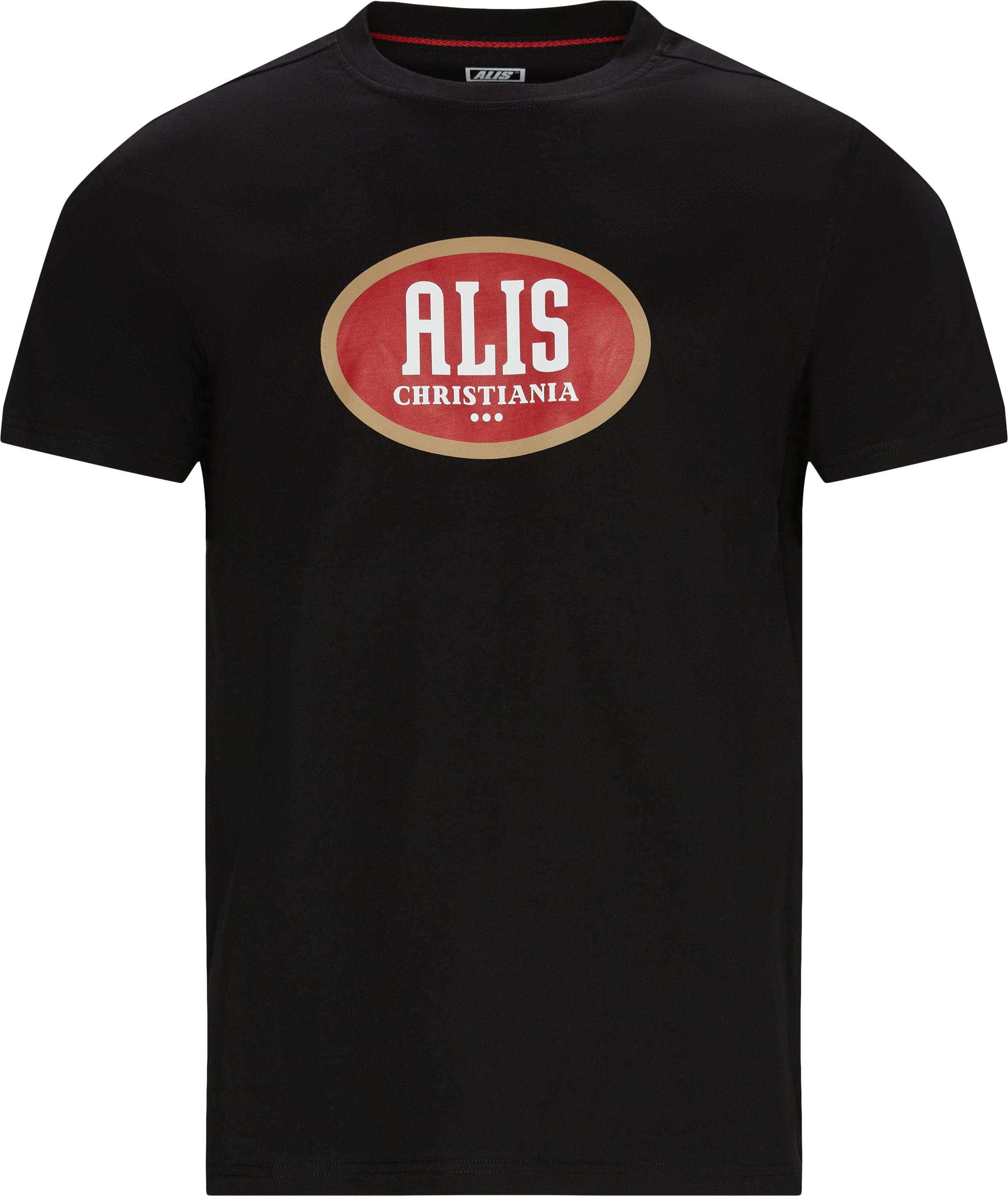 T-shirts - Svart