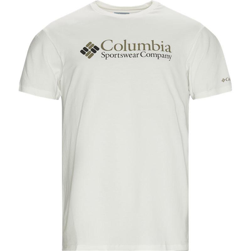 Columbia Csc Basic Tee Hvid
