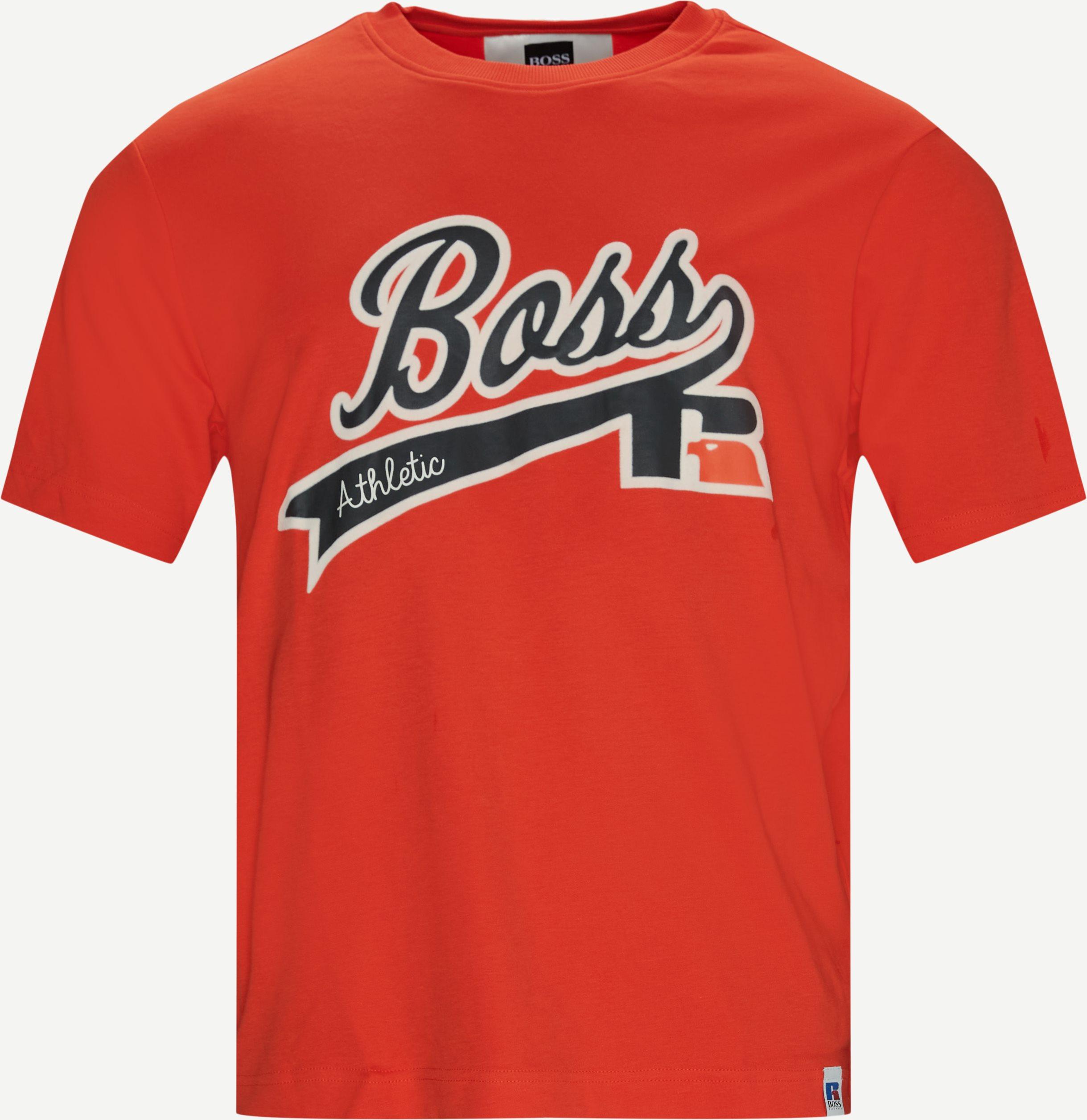 T-shirts - Regular fit - Orange