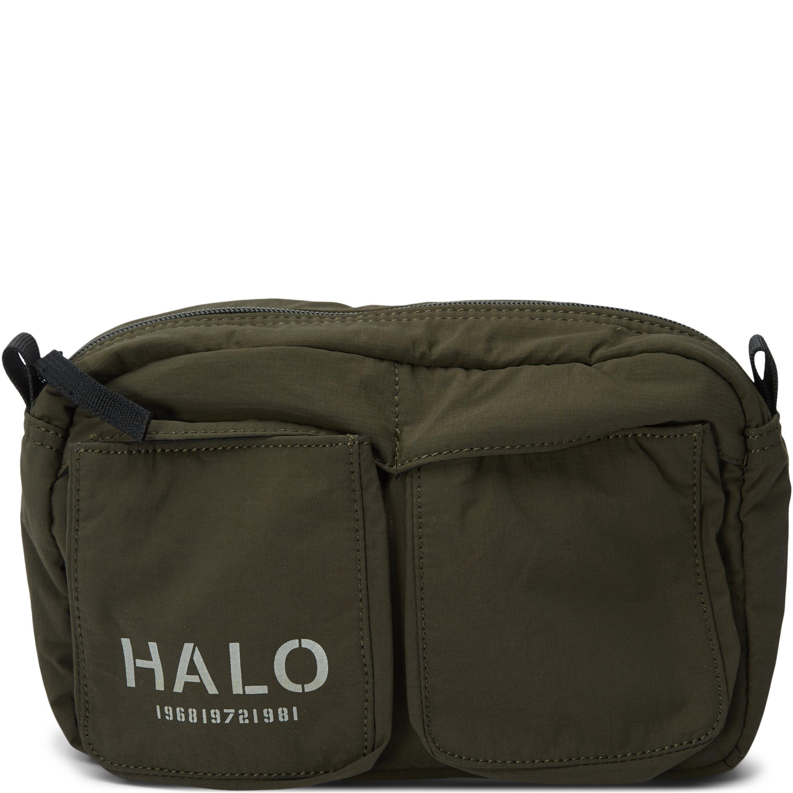 Nylon Waist Bag - Väskor - Armé