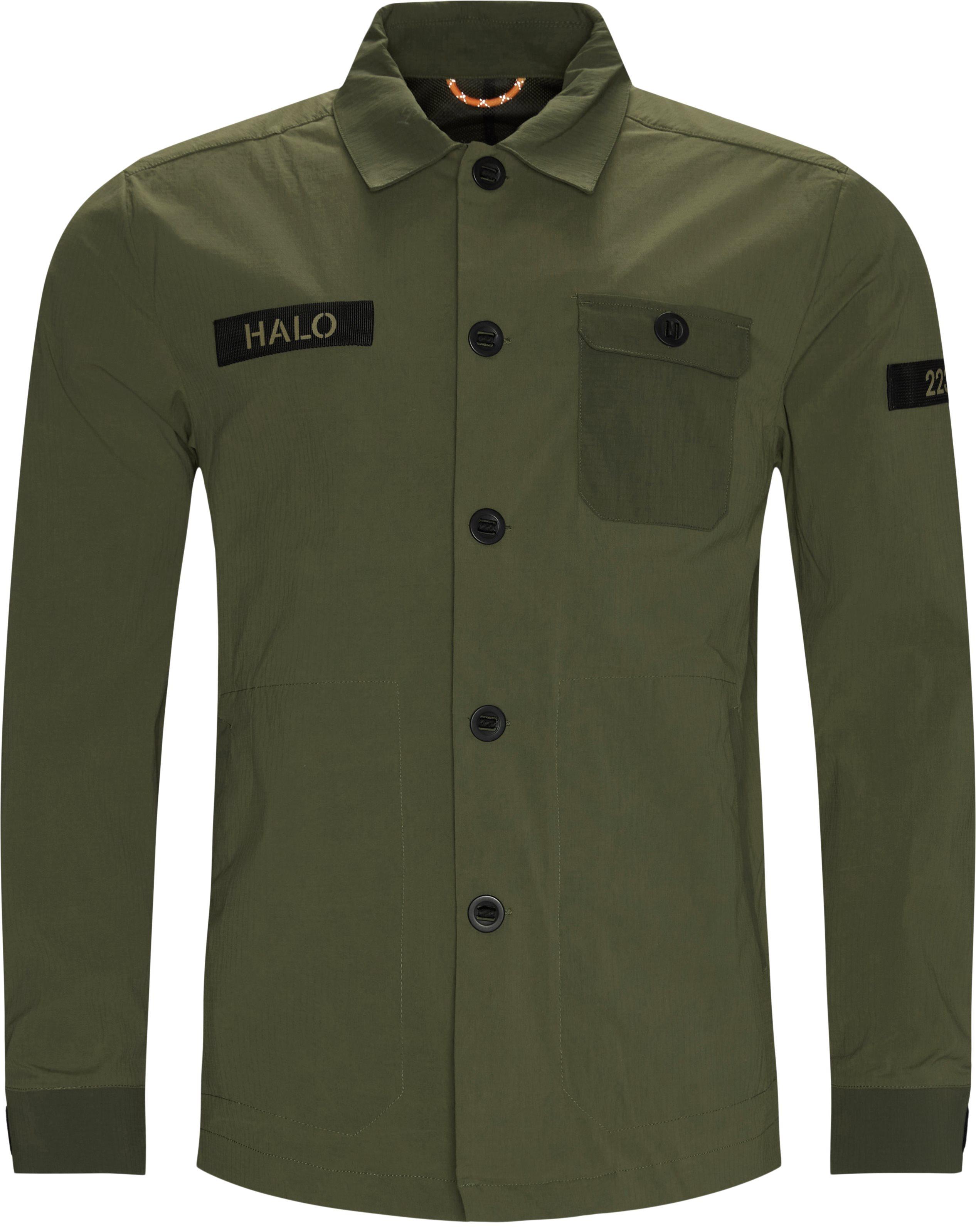 Field Overshirt Jakke - Jackor - Regular fit - Armé
