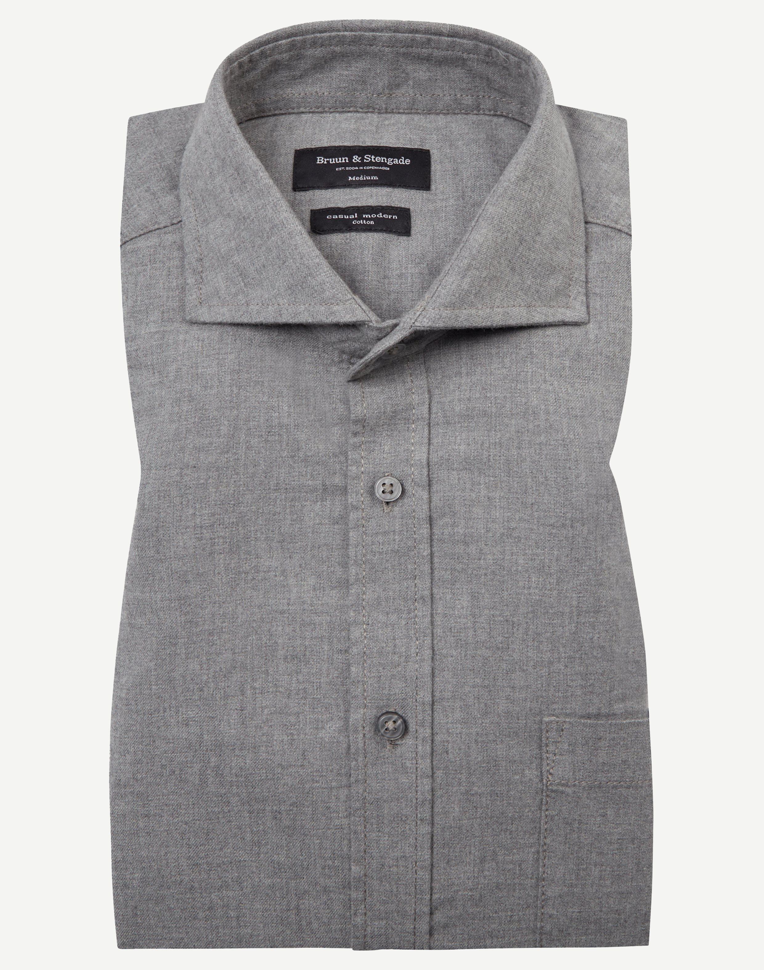 Skjortor - Grå