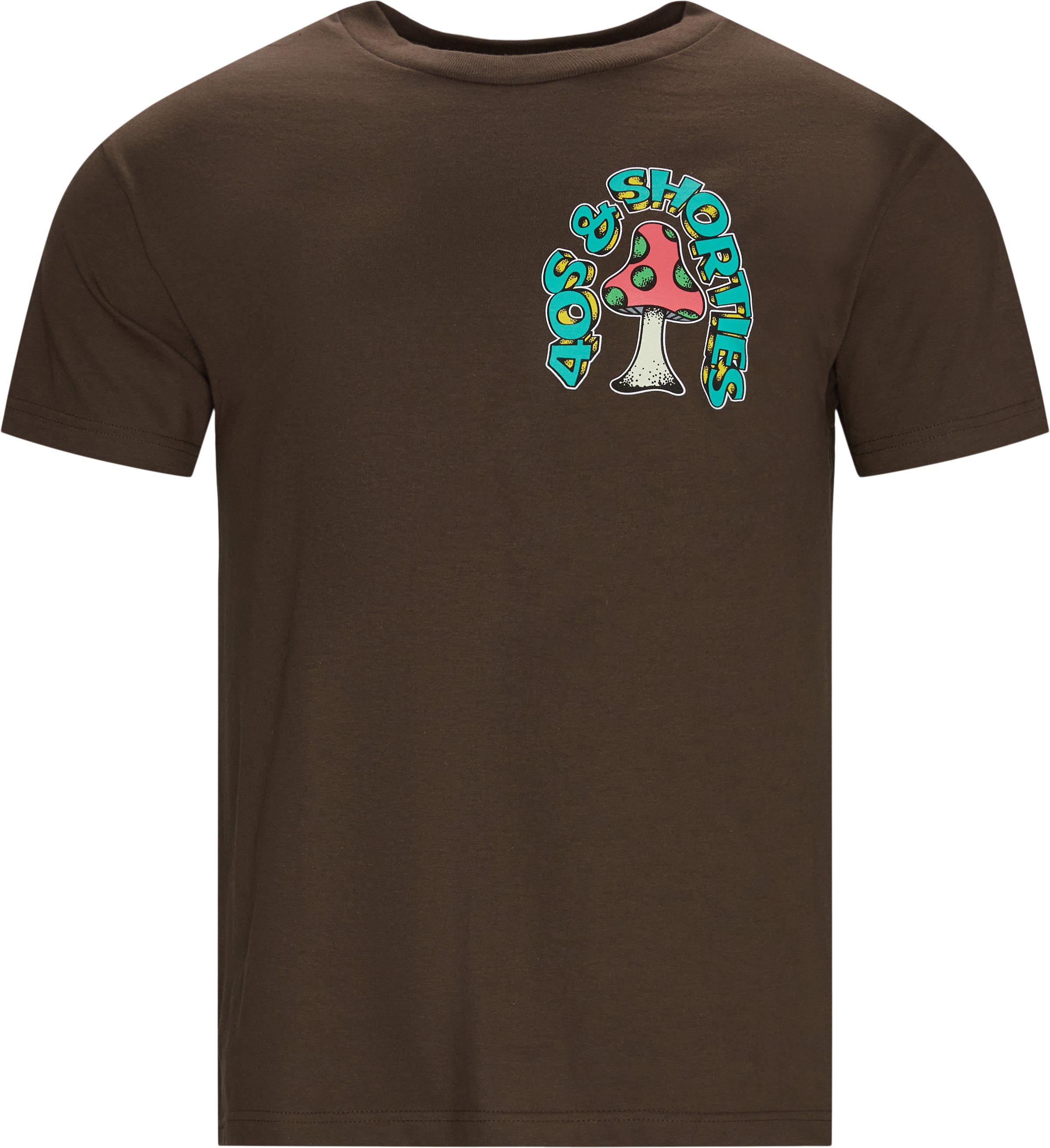 T-shirts - Brun