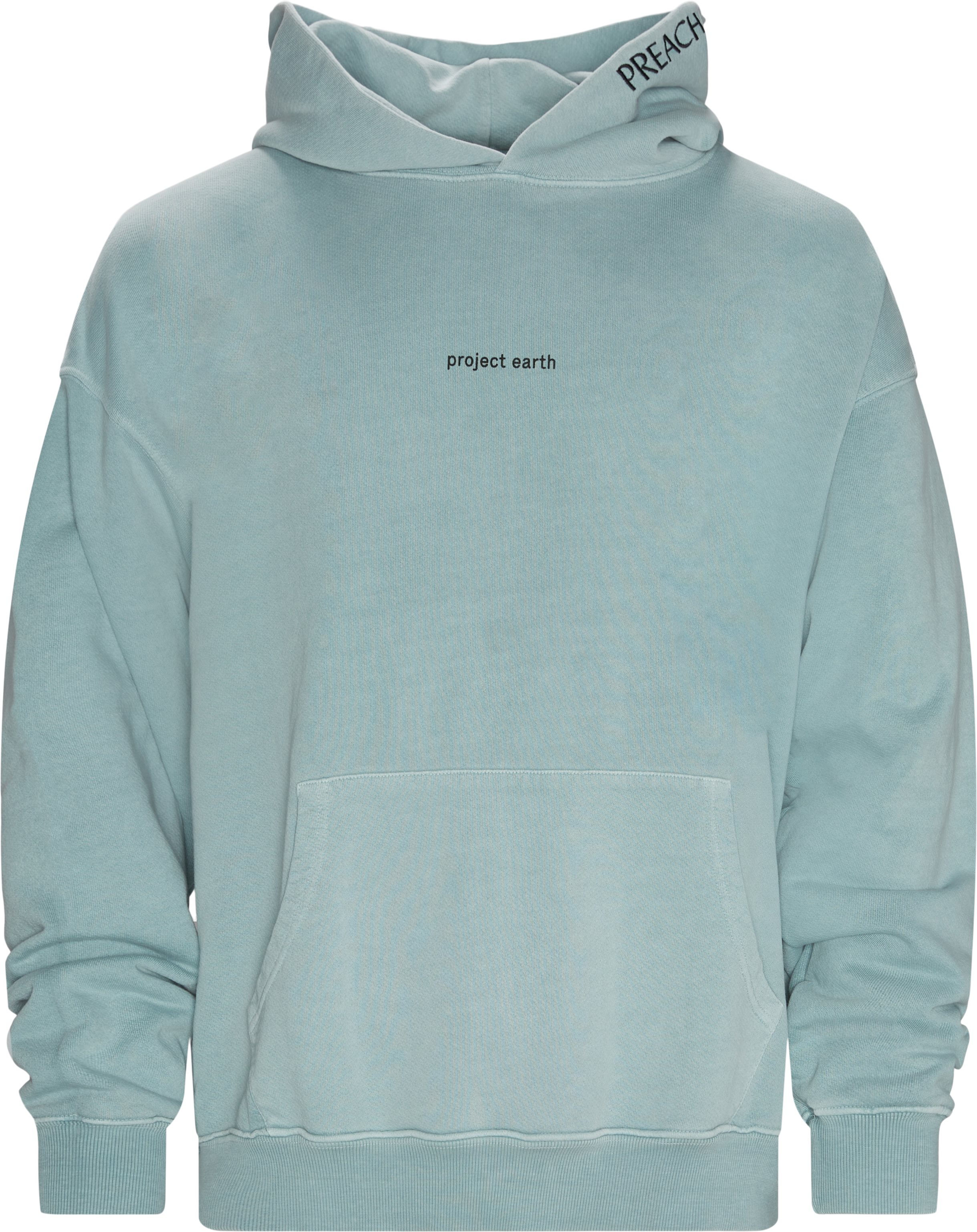 Oversized project earth hoodie - Sweatshirts - Oversize fit - Turkis