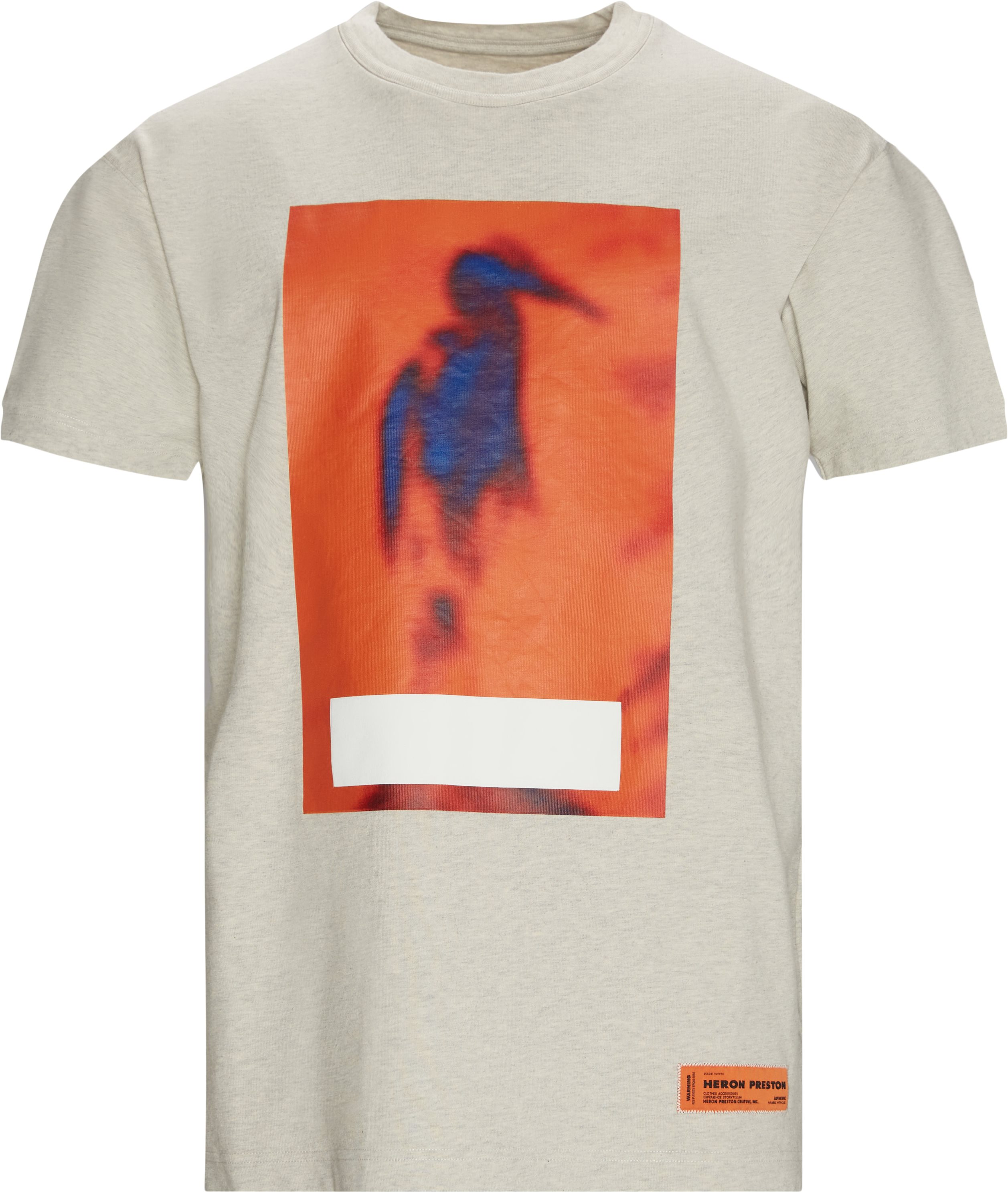 T-shirts - Oversize fit - Grey