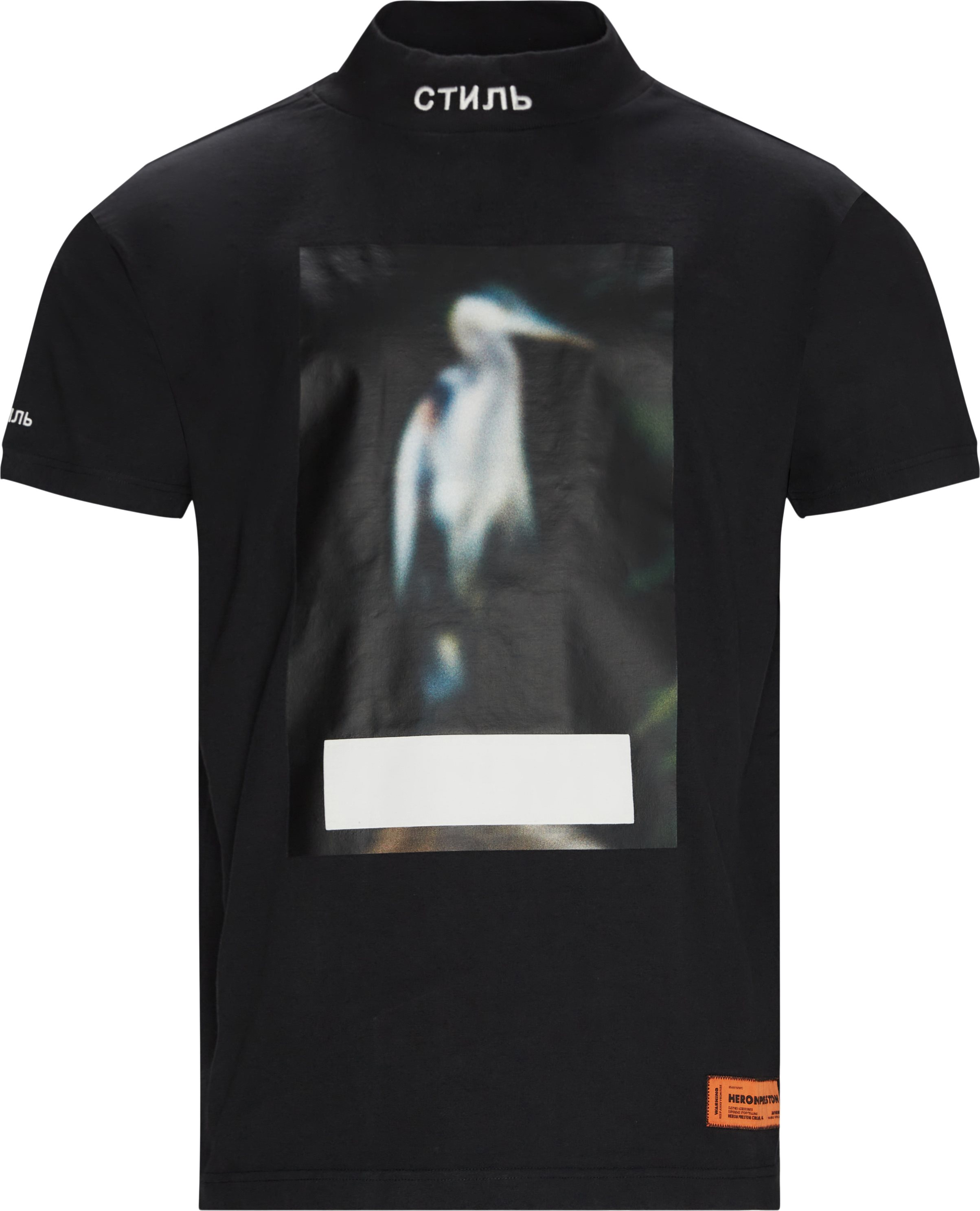 Censored Tee - T-shirts - Oversize fit - Sort